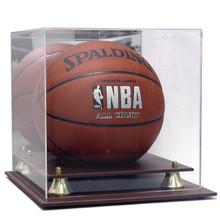 Executive Acrylic Leather Base Basketball Display Case