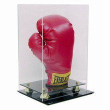 Deluxe Acrylic Vertical Boxing Glove Display Case