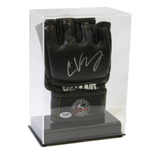 Deluxe Acrylic UFC/MMA Glove Display Case - Clear