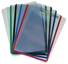 3 X 4 Premium Toploader - Color Border (25 PER PACK) - OUT OF STOCK