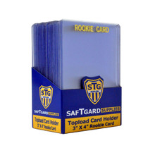 3 X 4 Premium Toploader - Rookie Gold (25 per pack) - OUT OF STOCK