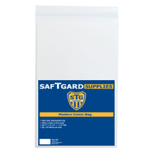 7 X 10-1/2 + 1.5 Modern / Current Comic Bag (100 per pack) - OUT OF STOCK