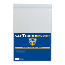 8 X 10-1/2 + 1.5 Golden Comic Bag - Thick (100 per pack) - OUT OF STOCK