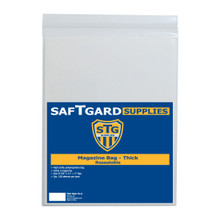 8-7/8 X 11 + 2 Magazine Bag - Thick - Resealable (100 per pack) - OUT OF STOCK