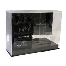 Deluxe Acrylic Double UFC/MMA Glove Display Case - Mirror Back