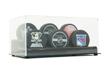 Acrylic Six Hockey Puck Display Case - OUT OF STOCK