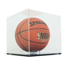 High Clarity Acrylic Basketball Display Case - Clear Back - OUT OF STOCK