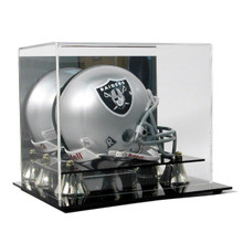 Deluxe Acrylic Mini Helmet Display Case - OUT OF STOCK