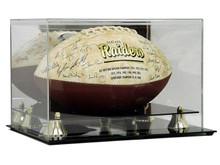 Deluxe Acrylic Football Display Case - Mirror Back