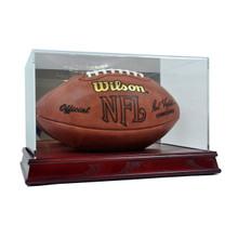 Deluxe Acrylic Wood Base Football Display Case