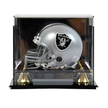 Deluxe Acrylic Mini Helmet Display Case - Wall Mountable