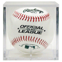 Baseball Square Holder w/Stand - UV Protection