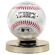 Gold Base Baseball Holder