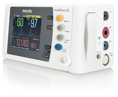 Philips IntelliVue MMS X2 M3002A Patient Monitor