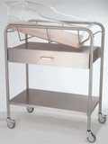 NK Medical NB-SSxD Bassinet with Drawer