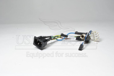 PART M4735-69563 :: Philips Heartstart XL AC/ECG Out Receptacle (Model: M4735A)