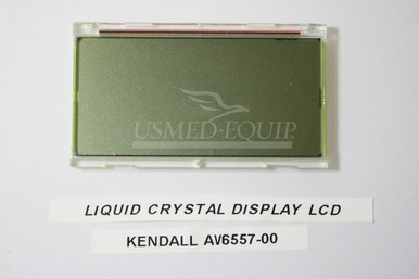 PART AV6557-00 :: Kendall LIQUID CRYSTAL DISPLAY, LCD (Model: 6060)