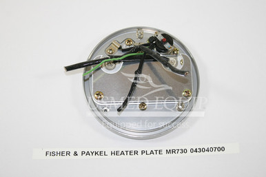 PART 43040700 :: Fisher & Paykel Heater Plate (Model: MR730)