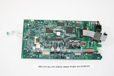 PART 031-0150-03 :: Welch Allyn Main PCBA (Model: 530TO)