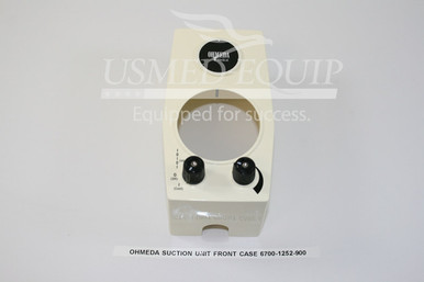 PART 6700-1252-900 :: Ohmeda Front Case (Model:  Intermittent Suction Unit)