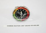 PART 670-050-200 :: Ohmeda Gauge (Model: Intermittent Suction Unit)
