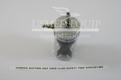 PART 67001251-9000 :: Ohmeda Over Flow Safety Trap (Model:  Intermittent Suction Unit)