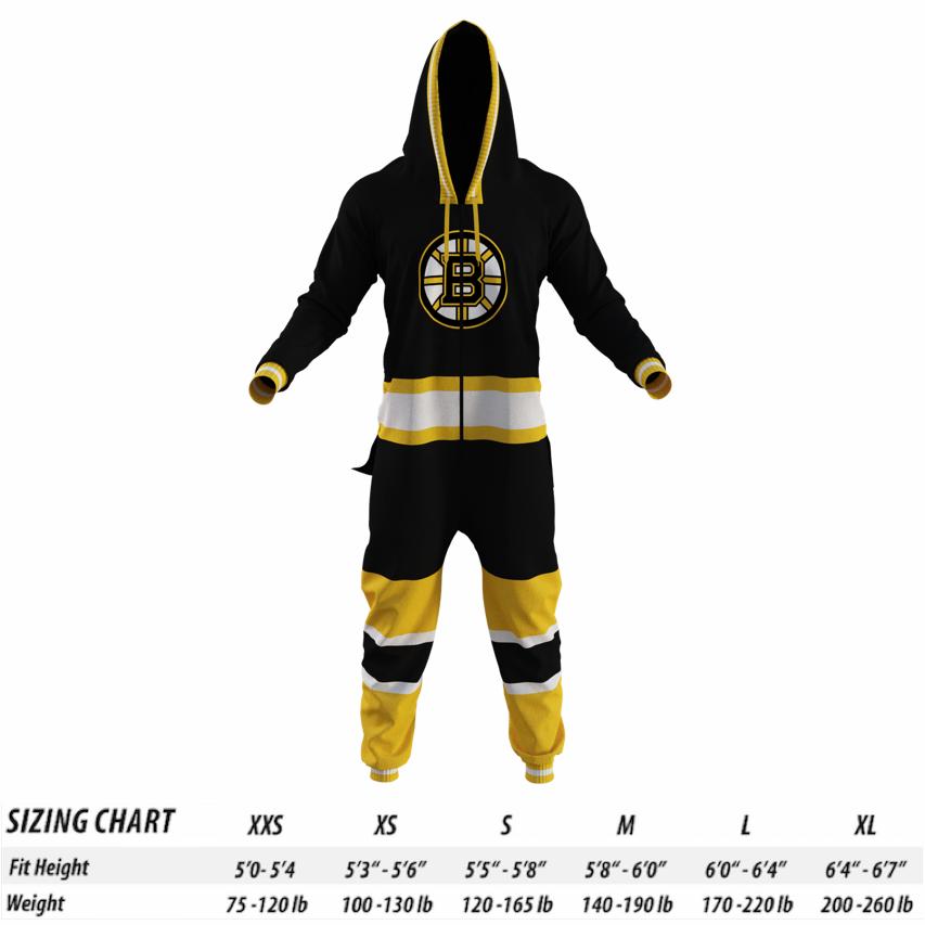 Boston Bruins NHL Onesie - Hockey Sockey f997da4ff