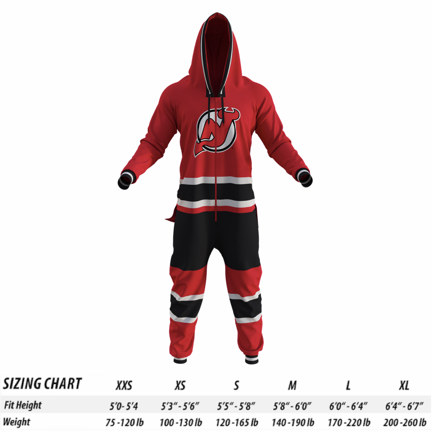 the latest cc98f 23bf4 New Jersey Devils NHL Onesie