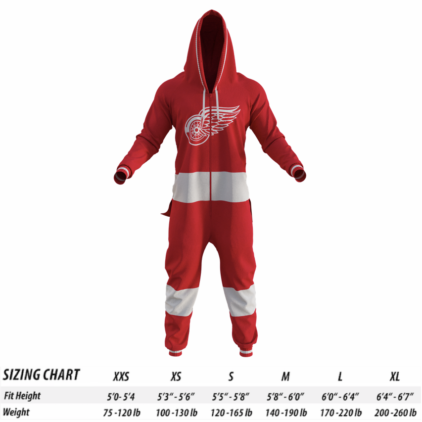 low priced 7f639 94081 Detroit Red Wings NHL Onesie