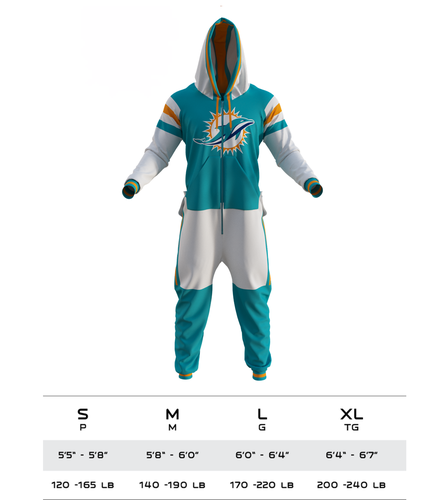 6a131d21 Miami Dolphins NFL Onesie