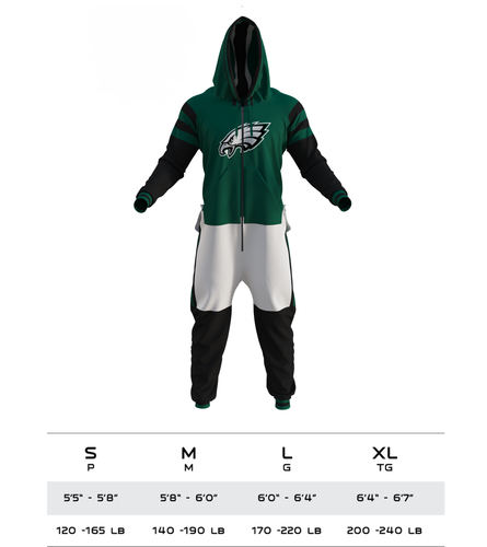 9b1e735d7c4 Philadelphia Eagles NFL Onesie - Hockey Sockey