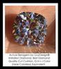 Benzgem by GuyDesign®, Luxury, Diamond Quality 3.21 Carat Cushion Shape, Alternative Solitaire, Mined diamond Semi-Mount, Romance, Bespoke 14 karat Engagement Ring, 10184