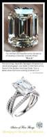 Emerald Cut Engagement Rings, Gold, Wedding Rings, Simulated Diamond, Diamonds, Wedding Sets, 10254