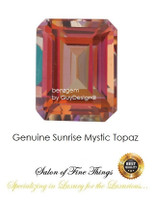 Sunrise Mystic Topaz, Faceted & Cabochon Loose Gemstones, 10407