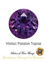 Violac Passion Topaz, Faceted & Cabochon Loose Gemstones, 10411
