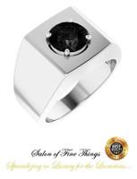 ⚜️ .GuyDesign® - Men's Middle Finger Rings,  Contemporary, Bold Design #1979.8