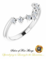 00001-B Platinum Diamond GuyDesign Wedding Ring