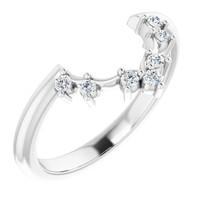 00003-B Platinum Diamond GuyDesign Wedding Ring