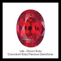 00004 Oval-Cut 6.80 Carat Corundum Ruby