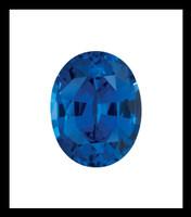 00005 Oval-Cut 6.50 Carat Corundum Sapphire