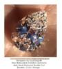 2.85 Ct. Pear Benzgem: Best G-H-I-J Diamond Quality Imitation; GuyDesign® Breast Cancer Survivor's Pendant Necklace: Lab-Grown Pavé Diamonds Custom Gold Jewelry, 10390
