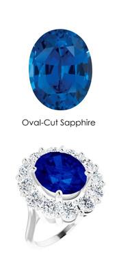0000036504 Plat. Max Sparkle H & A Diamonds 6.4ct Sapp. Diana Ring