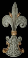 Classic Elements, Fleur de lis 15t x 7w Finial, Custom Finish