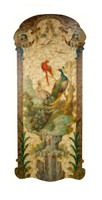 Luxe Life Hand Painted 69 Inch Wall Panel Art, Outdoor Scene 5376 ME - Wall Panel Art