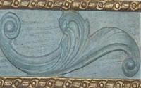 Classic Elements, Antique Blue with Gold Premium Finish