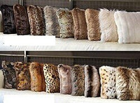Softest Ever Faux Fur 24 Inch Square Pillow, 4968