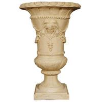 Cast, La Guirlande Et Orne 52 Inch Palace Urn Planter