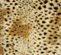 Cheetah Luxaire Faux Fur Pet Blanket | Lounger - Natural look and Luxuriously Soft - 35 X 47 Inches