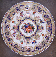 Butterfly d'Elegance, Luxury Handmade Reproduction Chinese Porcelain, 10 Inch Decorative Display Plate Style 83