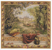 Castle - French Hand Woven Tapestry